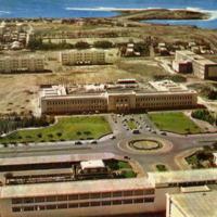 DAKAR, vue aérienne partielle de l'Université