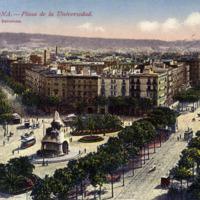 Barcelona-Plaza de la Universidad