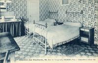 Paris.-Réunion des Etudiants, chambre à deux lits